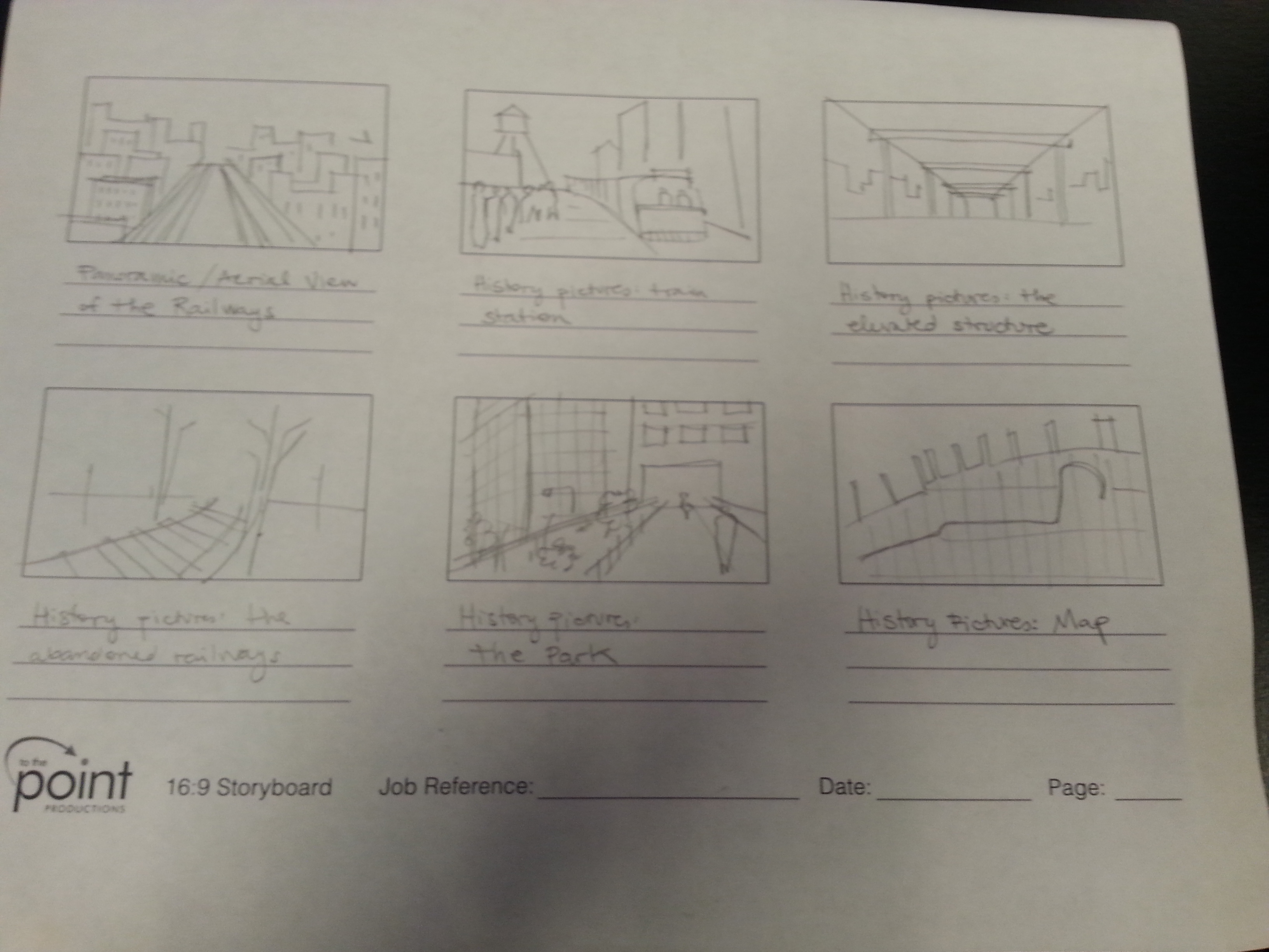 Storyboard the Story