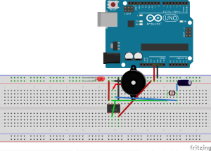 Then I created a visual diagram depicting the initial circuit.