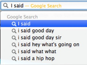 Google Search for Poetry